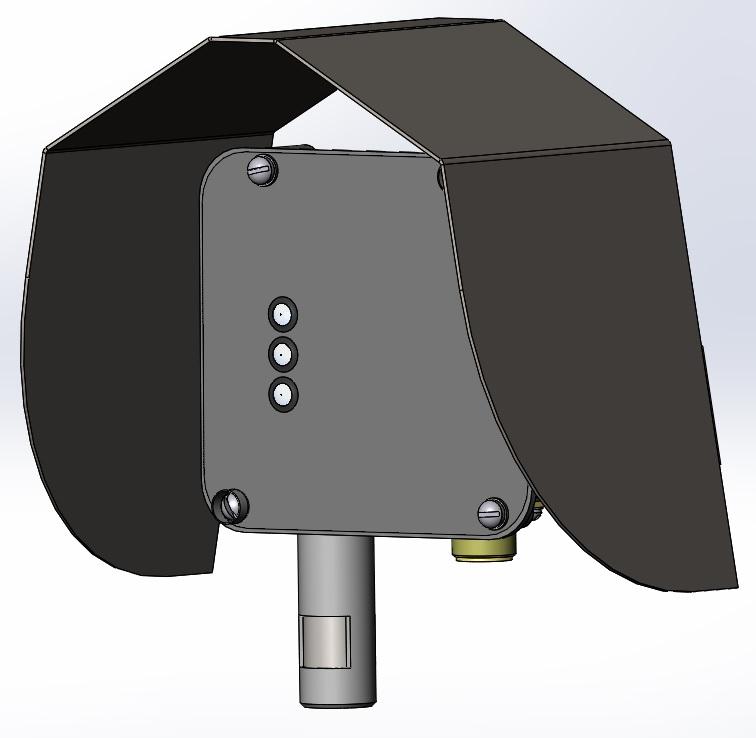 дополнительная защита датчиков от прямых солнечных лучей и дождя