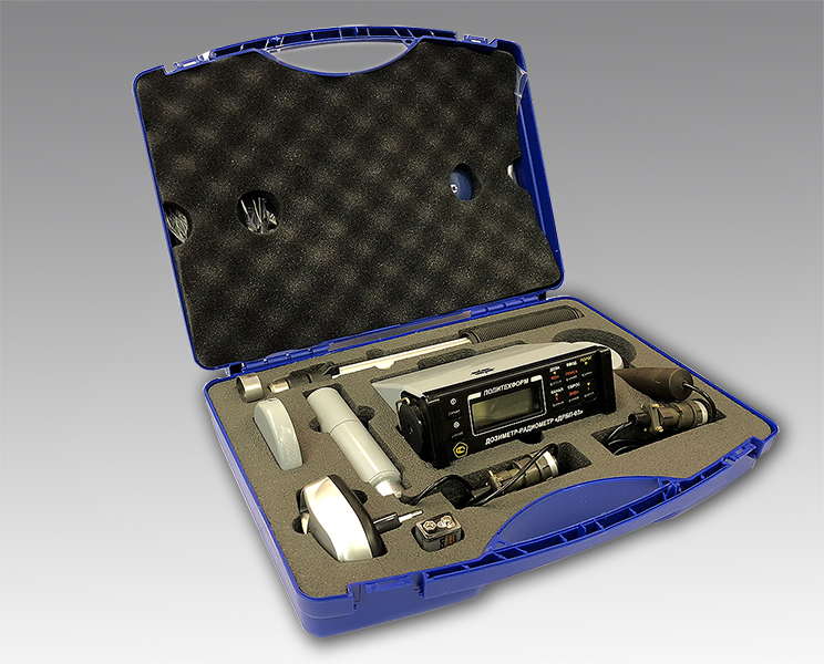Чемодан с дозиметром - радиометром ДРБП-03