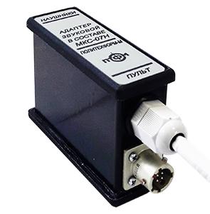 Звуковой адаптер к дозиметру МКС
